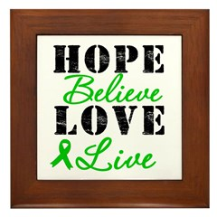 SCT BMT Hope Motto Framed Tile