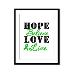 SCT BMT Hope Motto Framed Panel Print