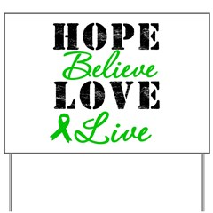 SCT BMT Hope Motto Yard Sign