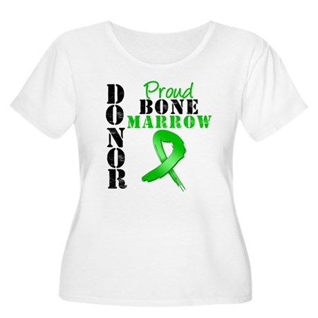 ProudBoneMarrowDonor Women's Plus Size Scoop Neck