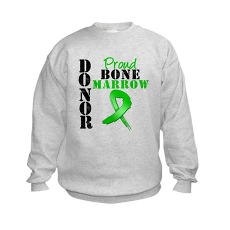 ProudBoneMarrowDonor Kids Sweatshirt