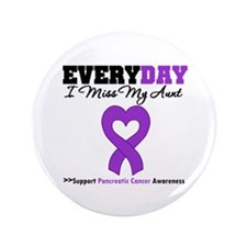 "PancreaticCancer Aunt 3.5"" Button (100 pack)"