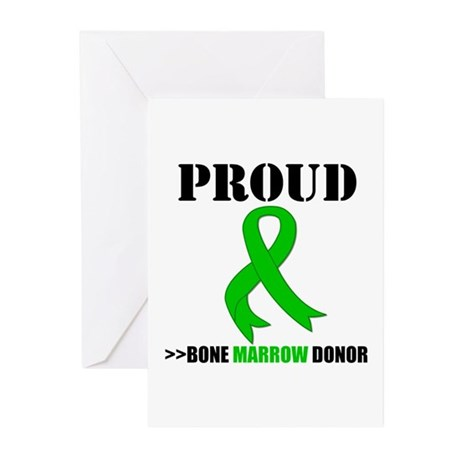 ProudBoneMarrowDonor Greeting Cards (Pk of 20)