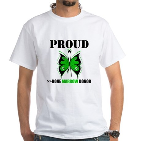 ProudBoneMarrowDonor White T-Shirt