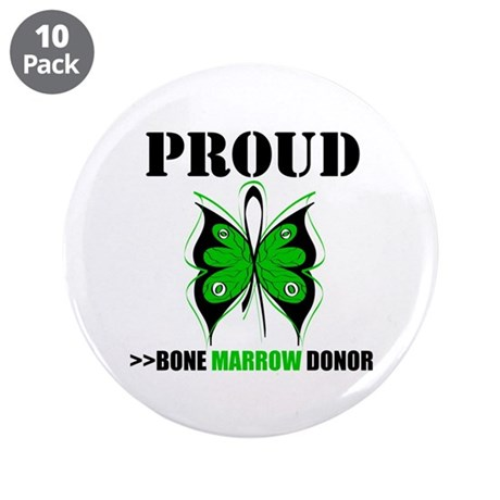 "ProudBoneMarrowDonor 3.5"" Button (10 pack)"