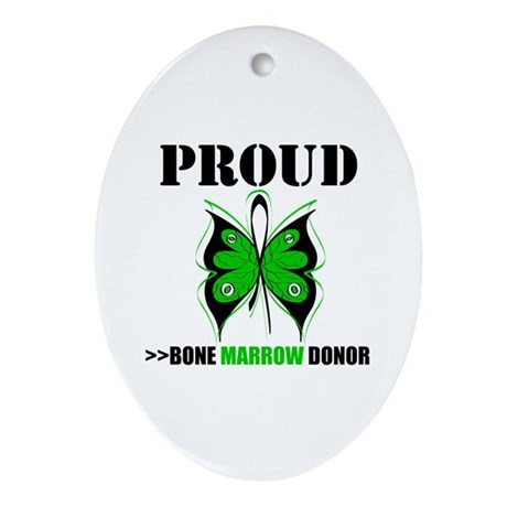 ProudBoneMarrowDonor Oval Ornament