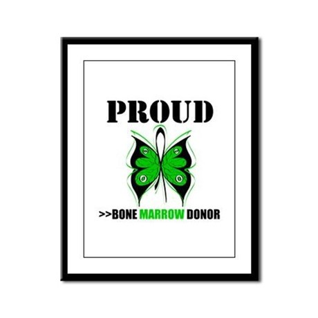 ProudBoneMarrowDonor Framed Panel Print