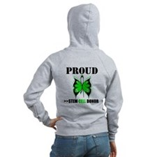 Proud Stem Cell Donor Zip Hoodie