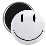 "Smiley 2.25"" Magnet (100 pack)"