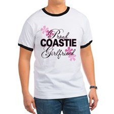 Proud Coastie Girlfriend T