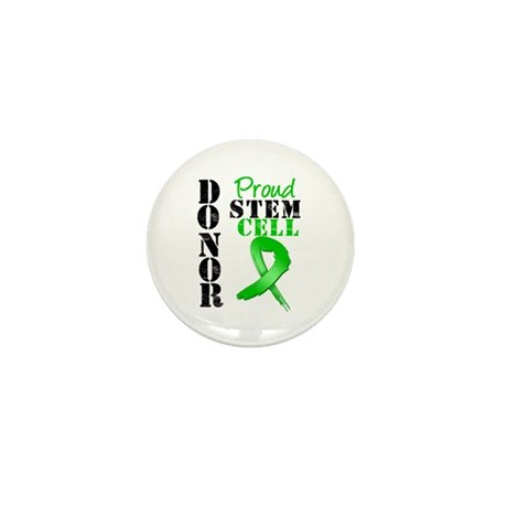 Proud Stem Cell Donor Mini Button (100 pack)