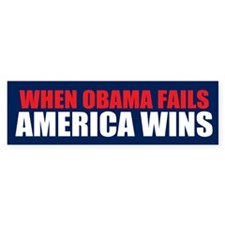 America Wins Bumper Sticker (50 pk)