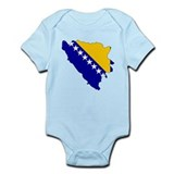 Bosnia and Herzegovina Flag Onesie