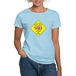Cautions Peanuts On Floor Women's Light T-Shirt