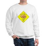 Cautions Peanuts On Floor Sweatshirt