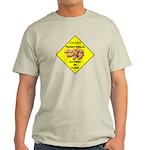 Cautions Peanuts On Floor Light T-Shirt