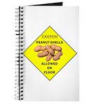Cautions Peanuts On Floor Journal