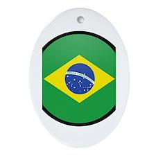 Brazil Oval Ornament