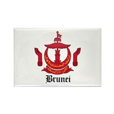Bruneian Coat of Arms Seal Rectangle Magnet