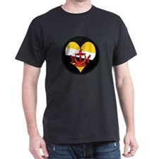 I love BRUNEI DARUSSALAM Fla T-Shirt