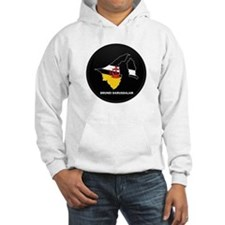 Flag Map of BRUNEI DARUSSALA Hoodie