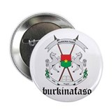 Burkinabe Coat of Arms Seal 2.25&quot; Button