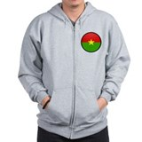 Burkina Faso Zip Hoodie