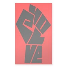 EvolveFist Rectangle Decal