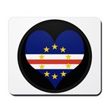 I love Cape Verde Flag Mousepad
