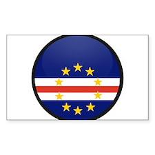 Cape Verde Rectangle Sticker