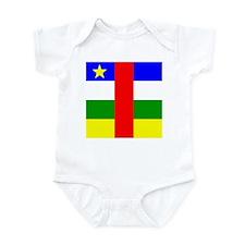 African Infant Bodysuit
