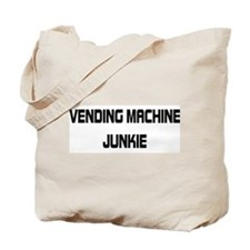 Vending Machine Junkie Tote Bag