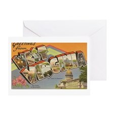 West Virginia Greeting Cards (Pk of 10)