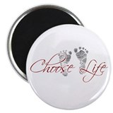 "Choose Life 2.25"" Magnet (100 pack)"