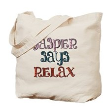 Twilight - Jasper Says Relax - Tote Bag