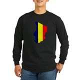 Chad Flag Map T