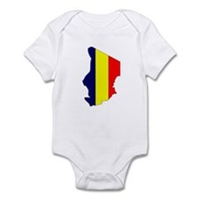 Chad Flag Map Onesie