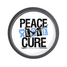 Prostate Cancer Cure Wall Clock