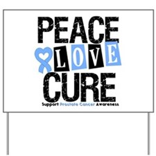 Prostate Cancer Cure Yard Sign