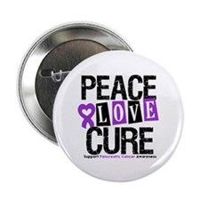 "Pancreatic Cancer Cure 2.25"" Button"