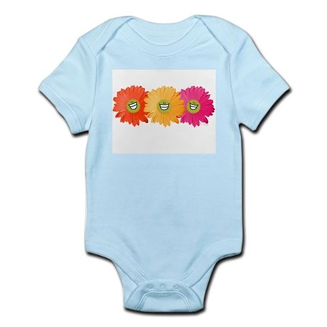 Happy Gerber Daisy Infant Creeper