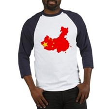 China Flag Map Baseball Jersey