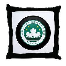 Coat of Arms of China MACAU Throw Pillow