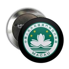 "Coat of Arms of China MACAU 2.25"" Button (10 pack)"