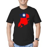 China MACAU Flag Map T