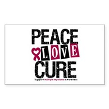 Multiple Myeloma Cure Rectangle Decal