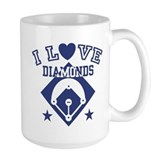 I Love Diamonds Mug