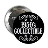 "1950's Collectible Birthday 2.25"" Button (10 pack)"