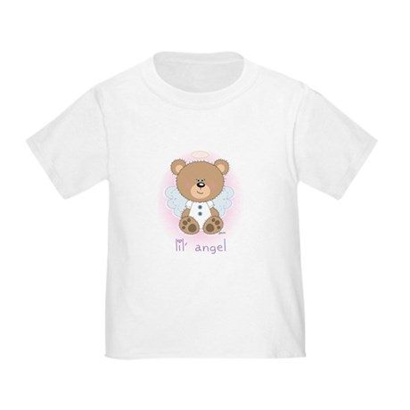 lil' brown bear angel Toddler T-Shirt