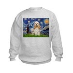 Starry / Cocker #1 Kids Sweatshirt